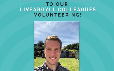 Allan, the 'Wright' man for this volunteering job!