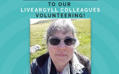 Yvonne's volunteer roles on Mull during 'Lockdown.'