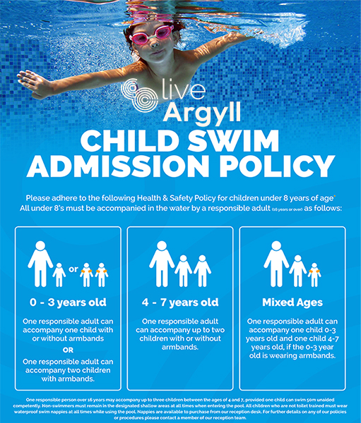 LiveArgyll Swim Policy