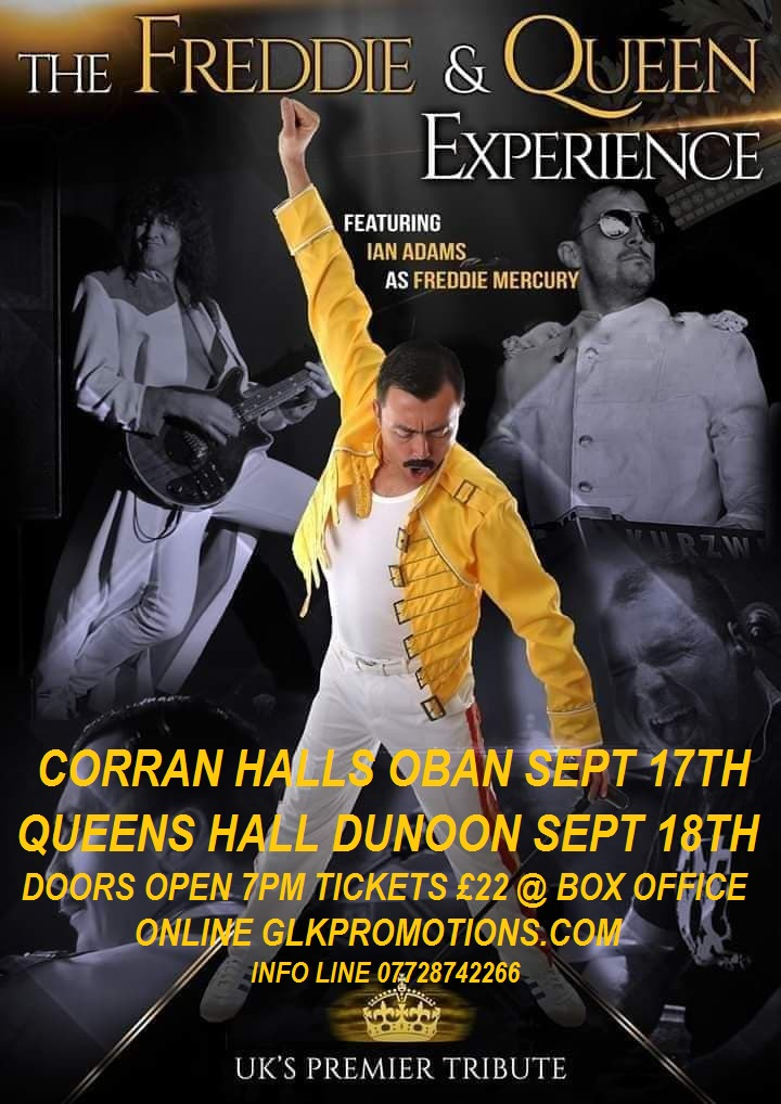 Freddie and Queen Experience concert