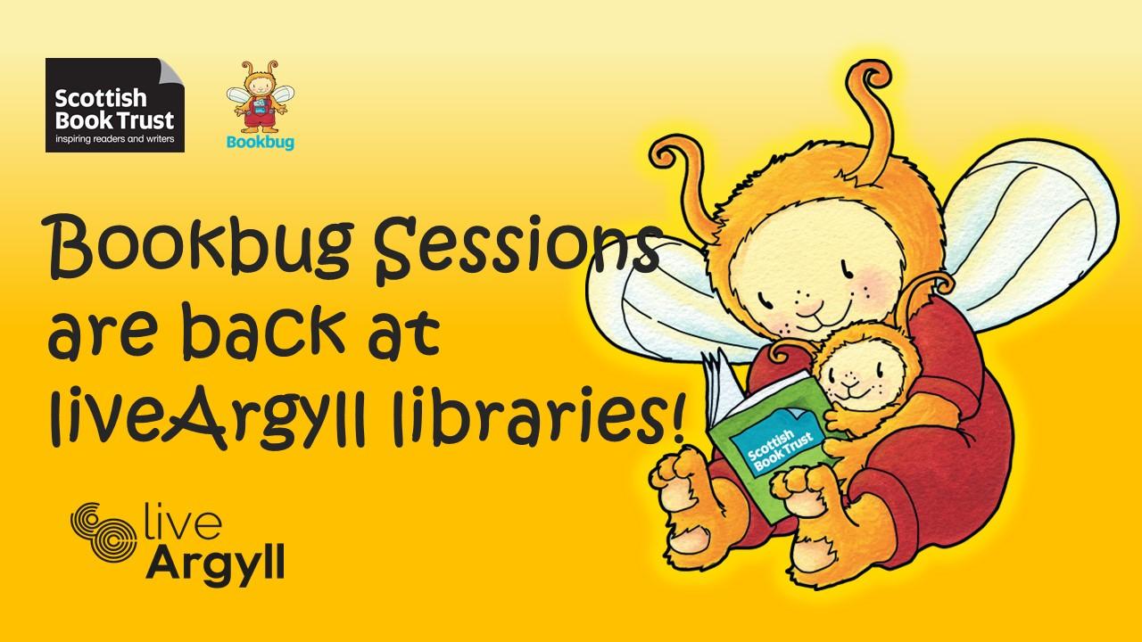 liveArgyll Bookbug sessions are back with Bookbug logo