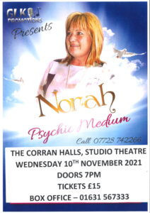 Poster for Norah Howie Psychic Medium